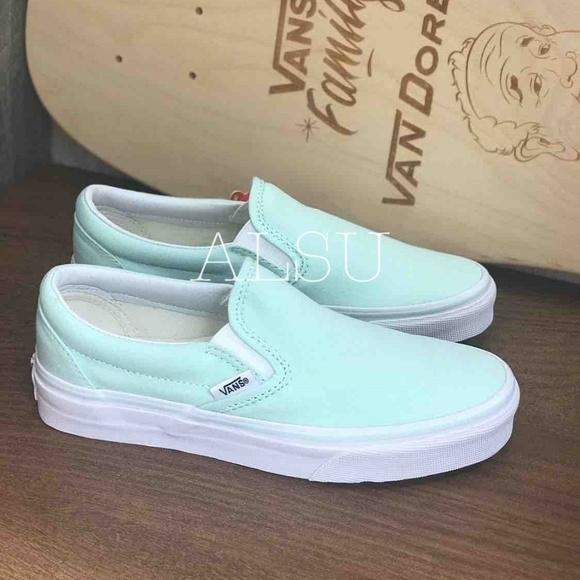 Vans Shoes   Nwt Vans Classic Slip On